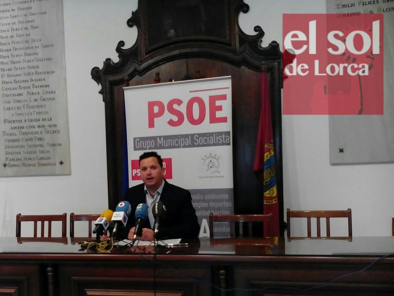 """El PSOE solicita que la vía rápida Lorca-Águilas se convierta en autovía """"para evitar que sea un punto negro"""""""