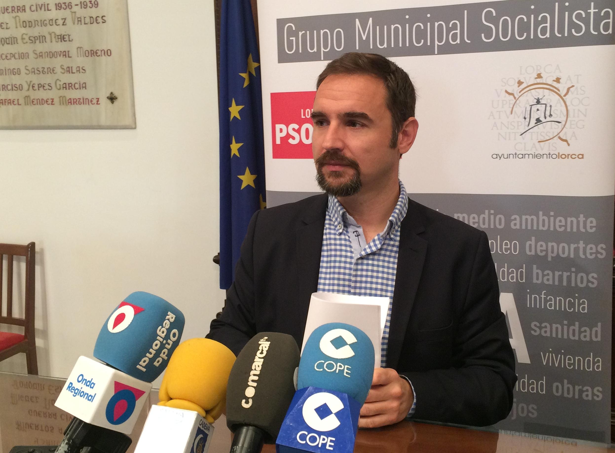 Según el PSOE, se consolida «como la única alternativa al Partido Popular en Lorca»