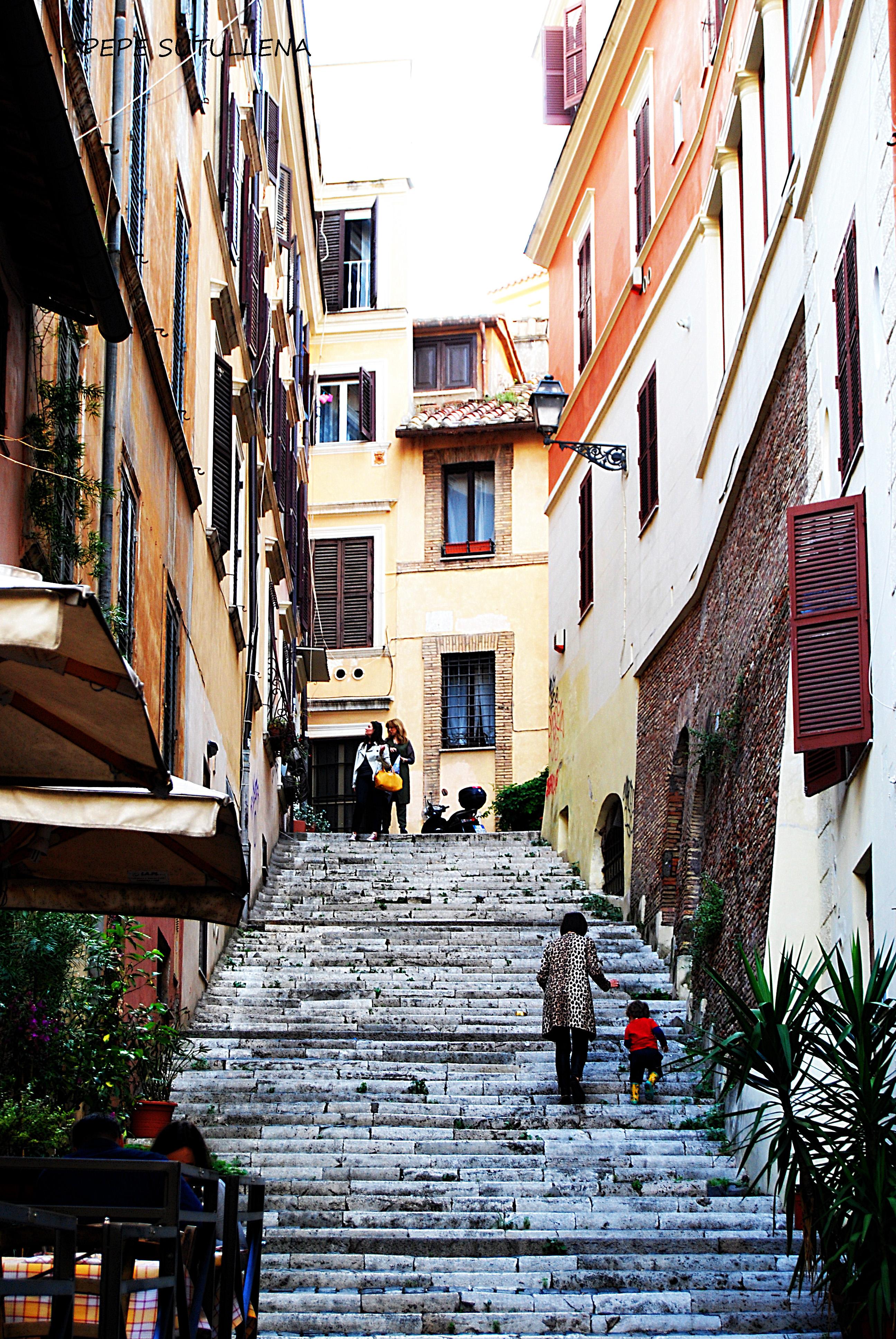Escalinata dei Capocci