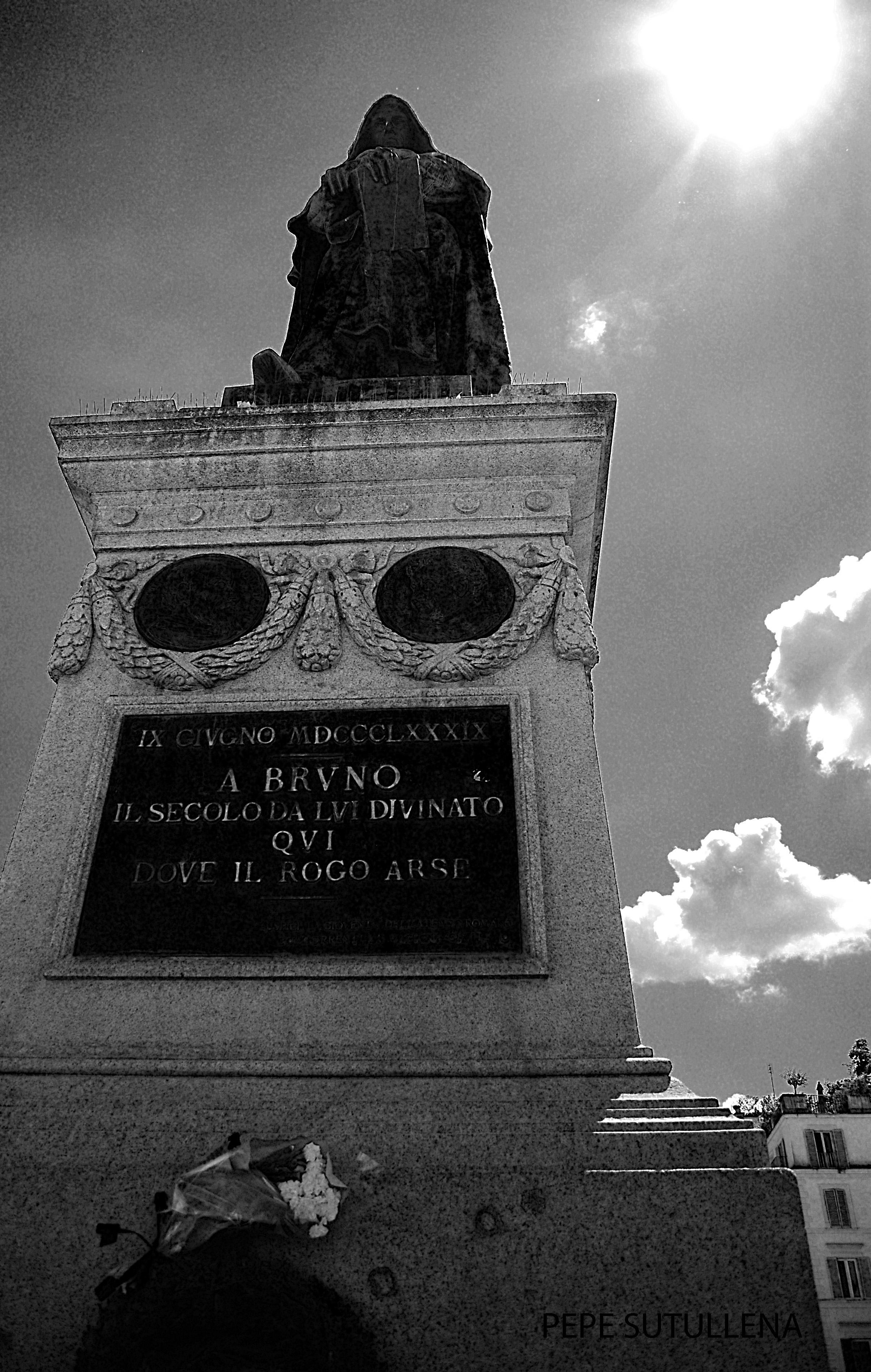 Estatua de Giornado Bruno