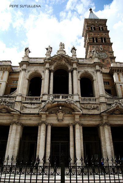 Fachada y campanario de Santa Maria la Maggiore