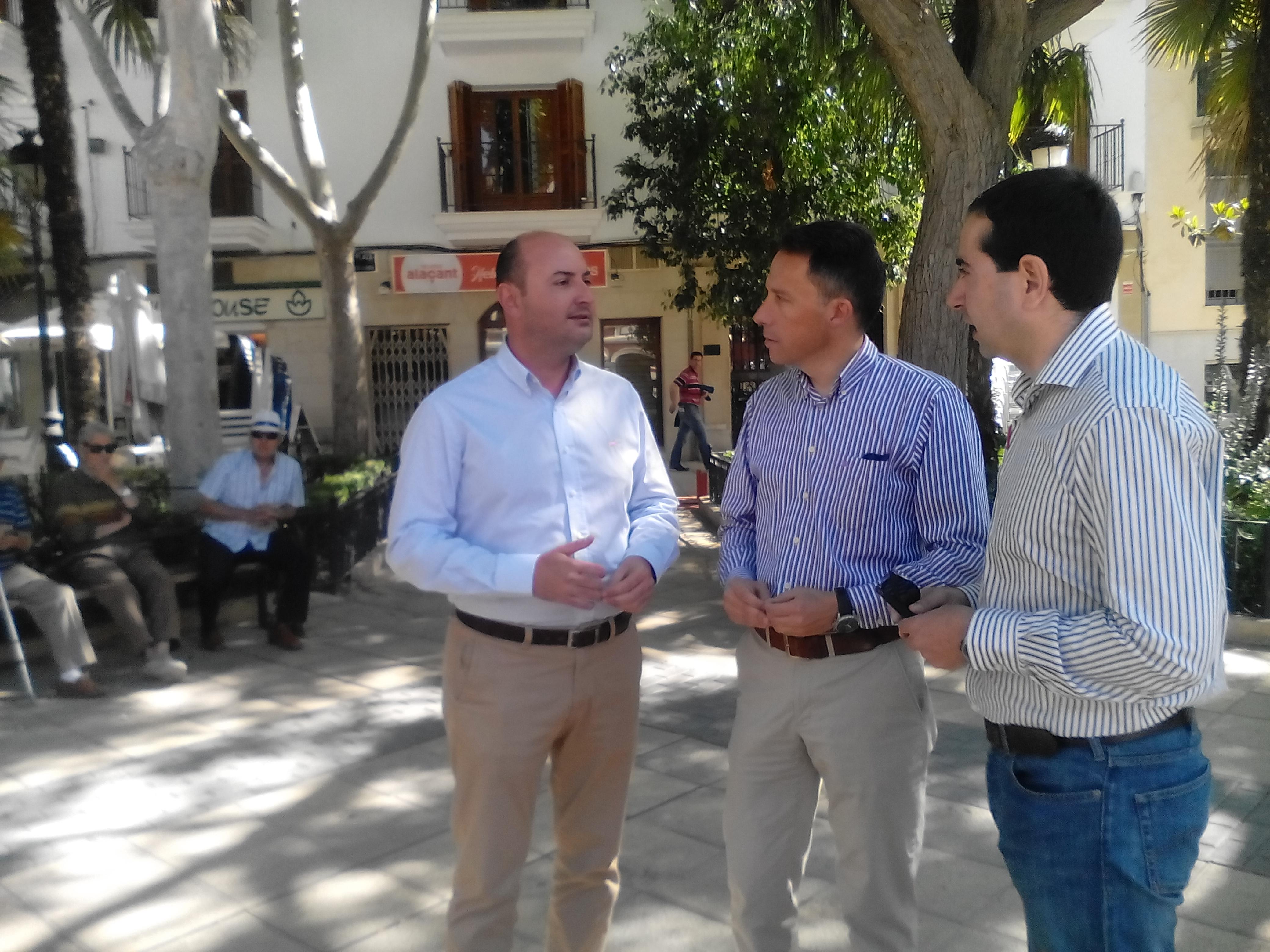 El PP del Lorca propone una campaña electoral para el 26-J sin «grandes actos»