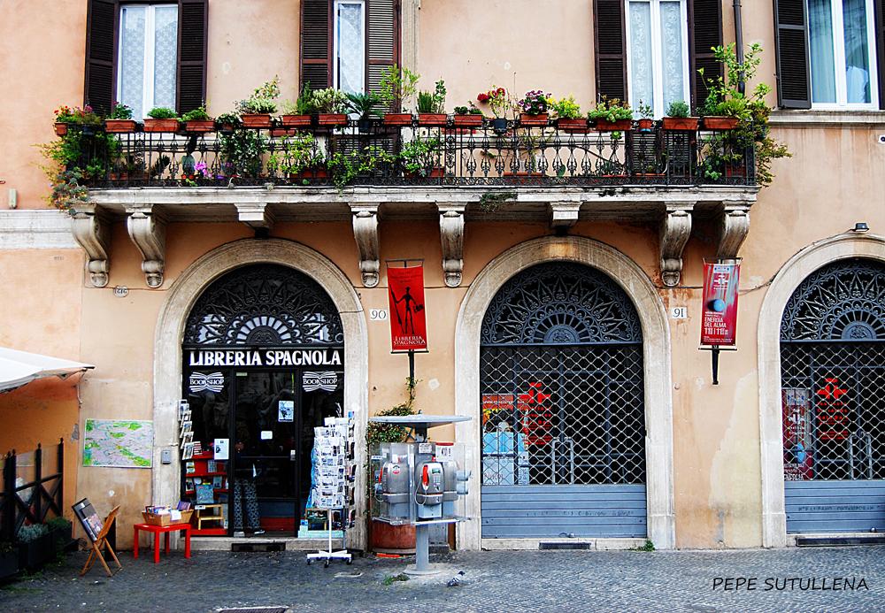 Librería española de Piazza Navona