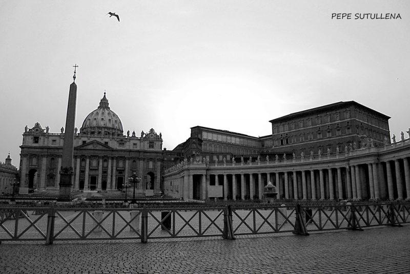 Plaza de San Pedro del Vaticano, ideada por Bernini
