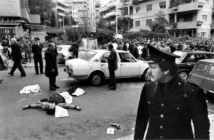 Secuestro y asesinato de los cinco escoltas de Aldo Moro. Via Fani