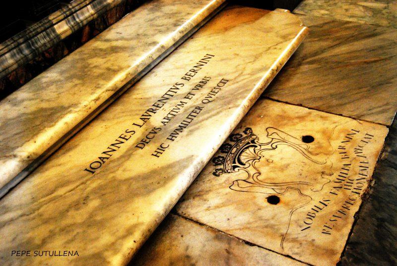 Tumba de Gian Lorenzo Bernini