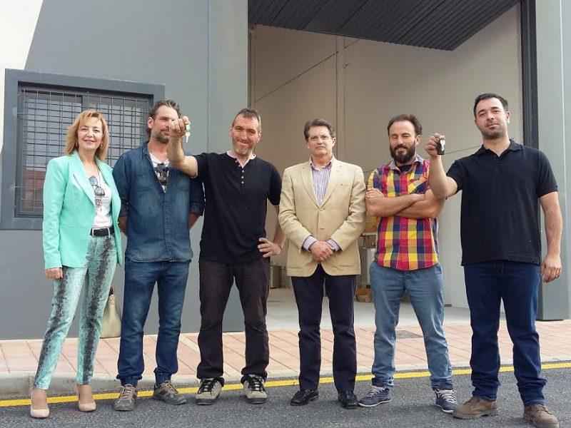 El vivero empresas de la torrecilla acoge dos nuevos for Proyecto de vivero municipal