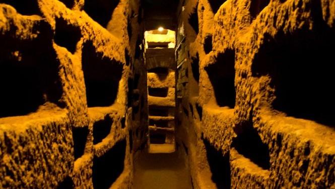 Pasaje de las Catacumbas de San Calixto