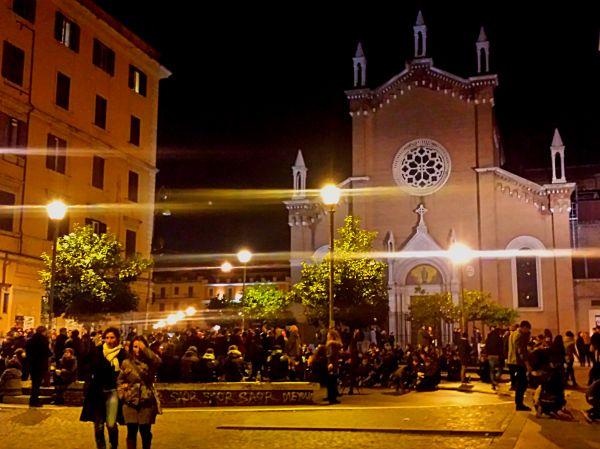 San Lorenzo nocturno, en la actualidad