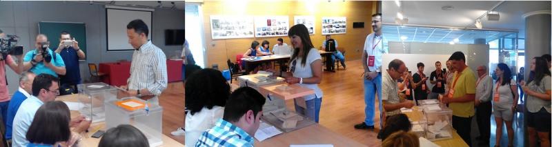 Los candidatos lorquinos piden a los ciudadanos que vayan a votar este 26-J