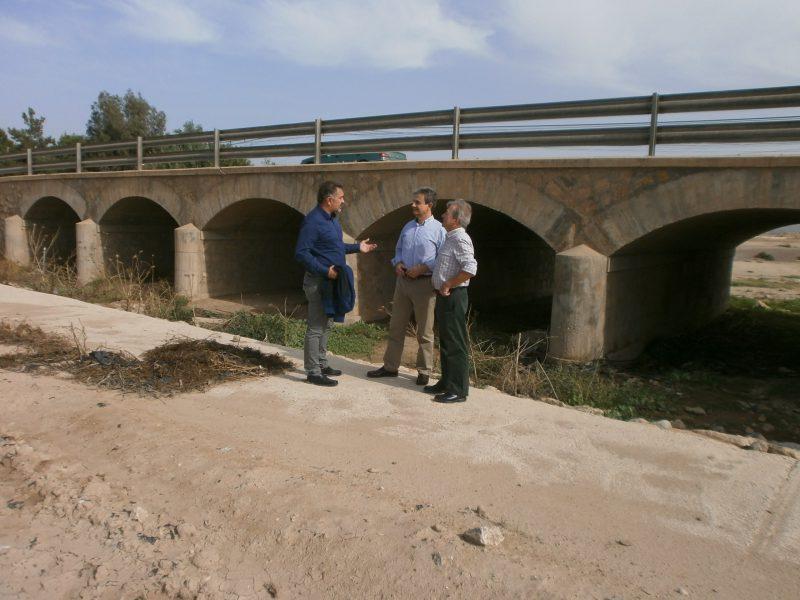 Las obras de la rambla de Biznaga evitarán los daños ante posibles inundaciones