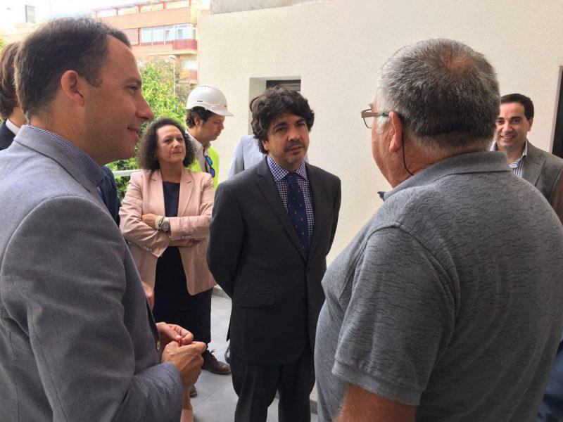"""Las nuevas viviendas del barrio de San Fernando """"serán entregadas en 10 meses"""""""