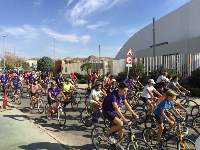 Con el Ciclo-Paseo se dirá adiós a los XXXIX Juegos Deportivos del Guadalentín, este jueves