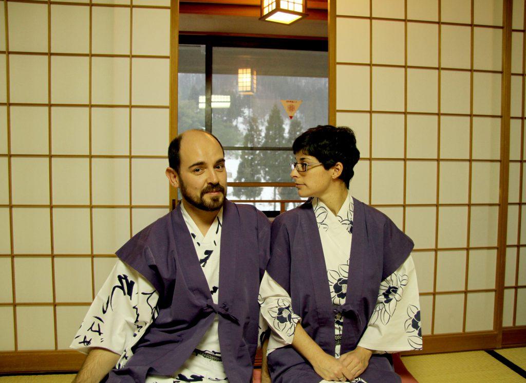 Empapándose de la cultura japonesa