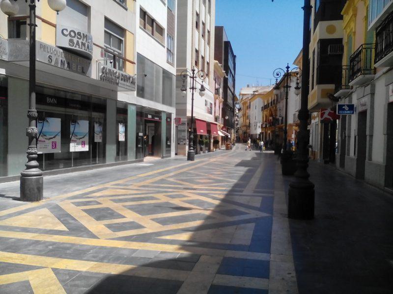 Las calles Corredera, Pío XII y Alporchones tendrán sombra gracias a la instalación de toldos