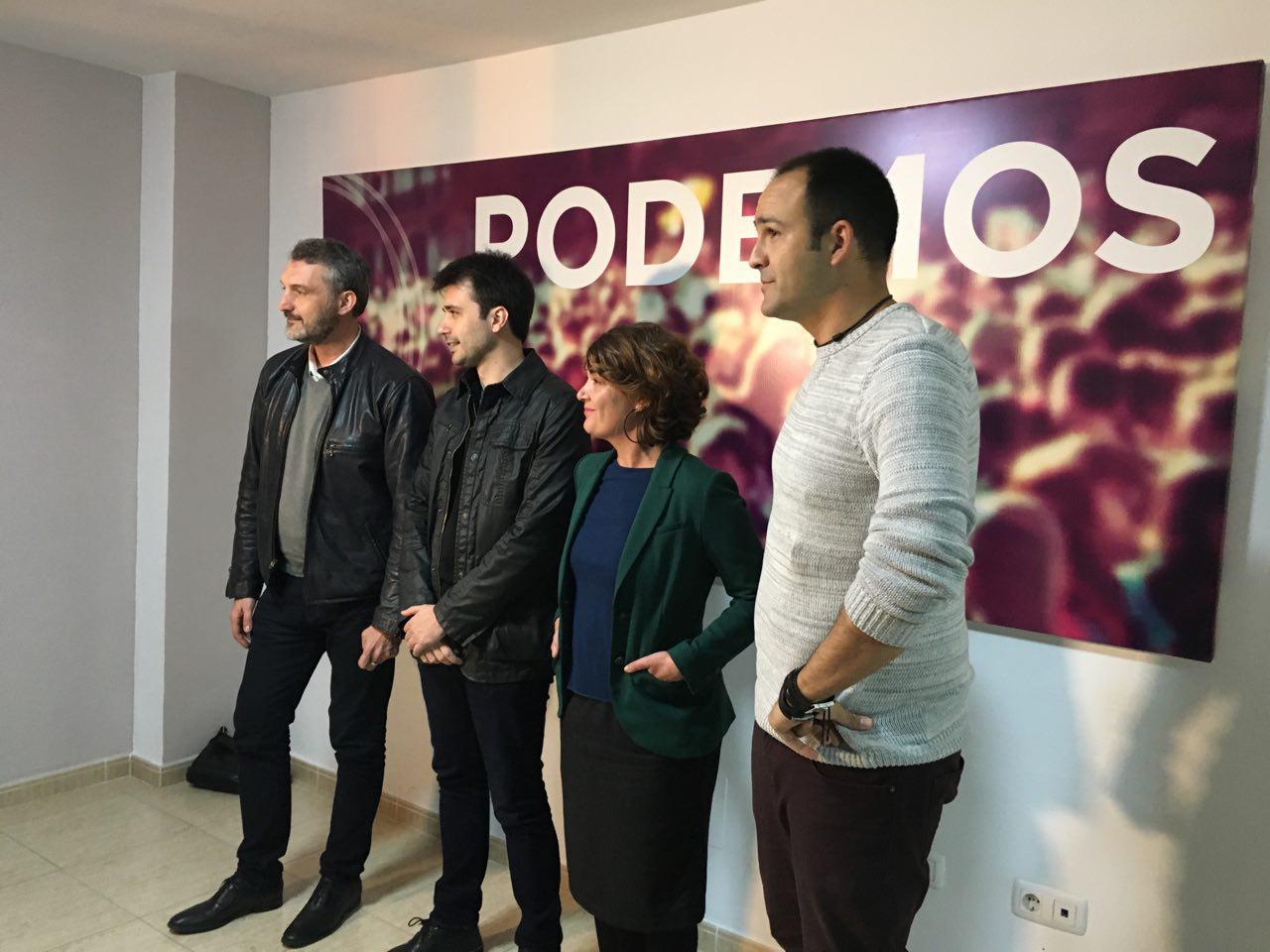 Podemos inaugura su nueva Oficina Parlamentaria en la Comarca del Guadalentín