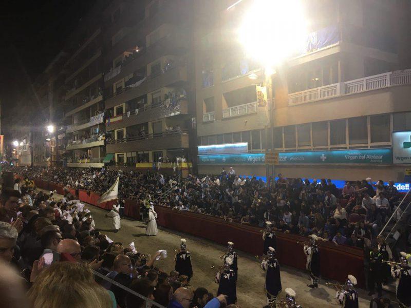 Más de 340.000 personas han visitado Lorca durante esta Semana Santa 2017