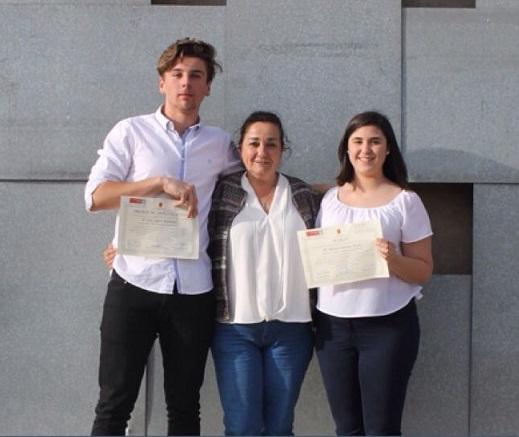 Dos alumnos del Ros Giner, premiados en el Congreso Regional de Investigadores