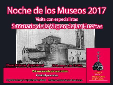 """""""Lorca por su Patrimonio"""" ofrece una visita guiada en su'particular' Noche de los Museos"""