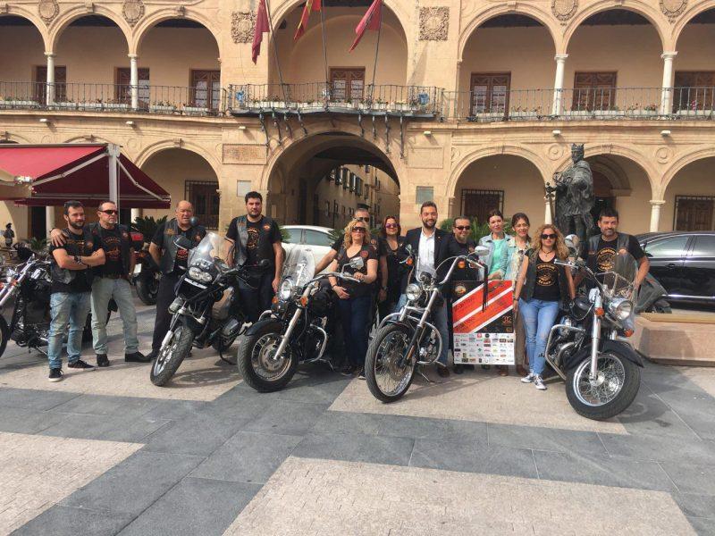 """Miles de moteros 'sentirán la llamada' este fin de semana del evento mototurístico """"Custom Lorca"""""""