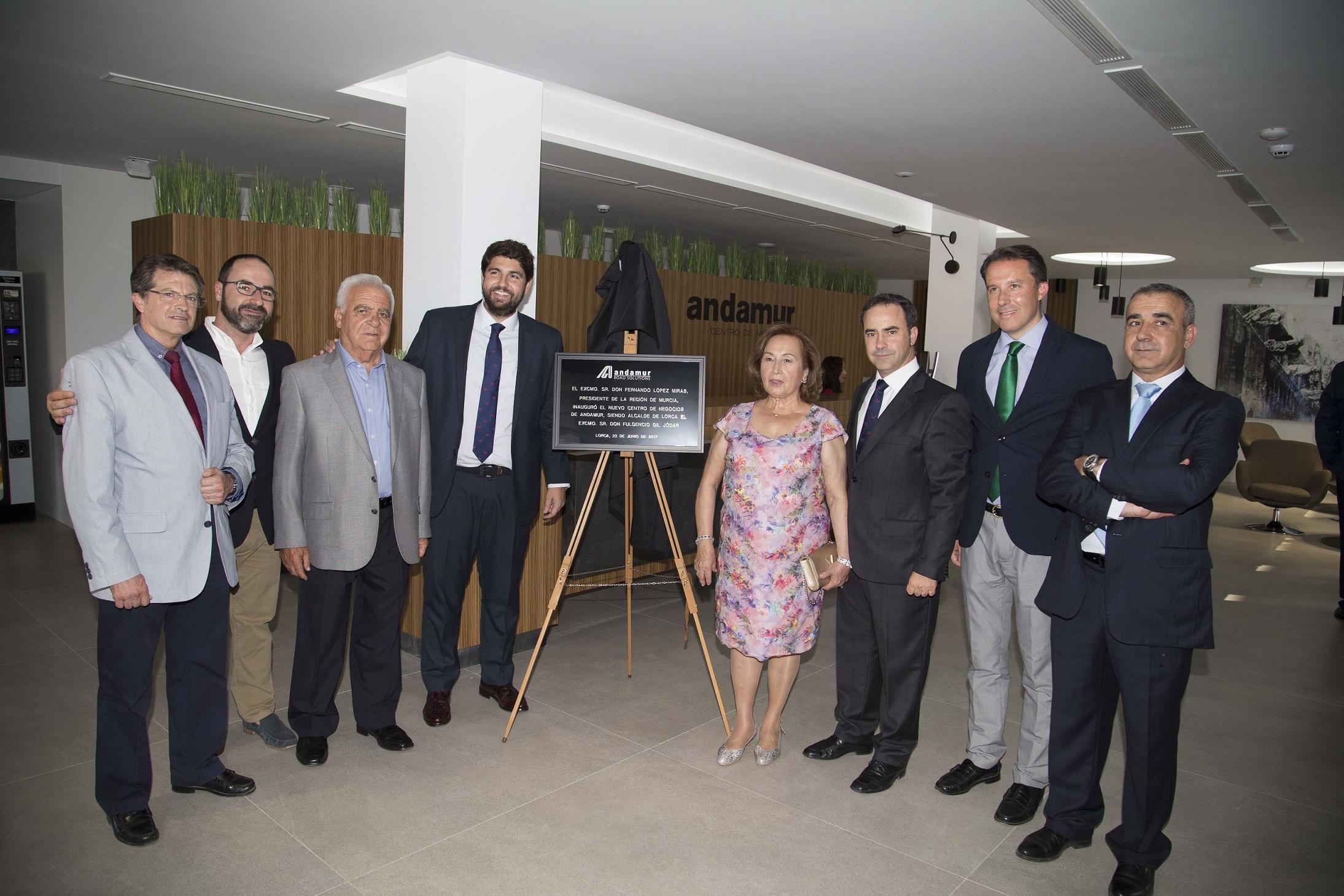 Andamur inaugura su Centro de Negocios en el Polígono Saprelorca, coincidiendo con el 30 aniversario de la empresa