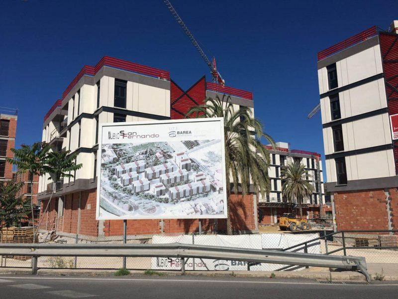 """IU denuncia """"una nueva paralización de las obras de reconstrucción"""" de San Fernando"""