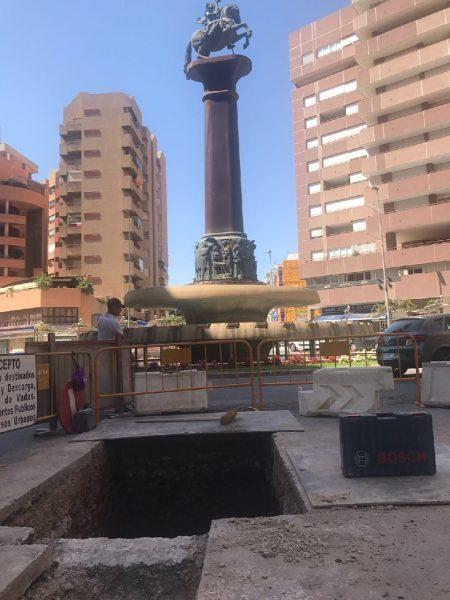 """C´s denuncia que la empresa encargada de las obras de la Avenida pide 277.000 euros más por """"imprevistos"""""""