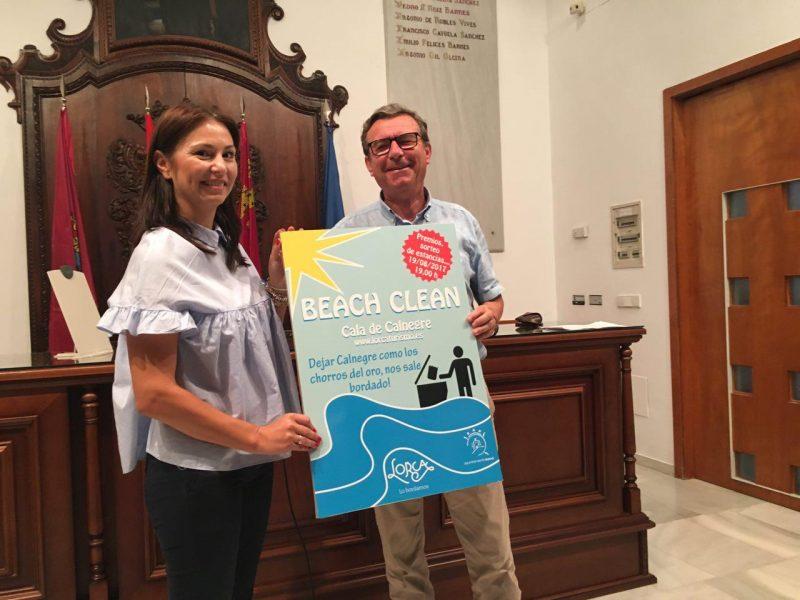 La iniciativa medioambiental 'Beach Clean' limpiará la Cala de Calnegre el sábado 19 de agosto