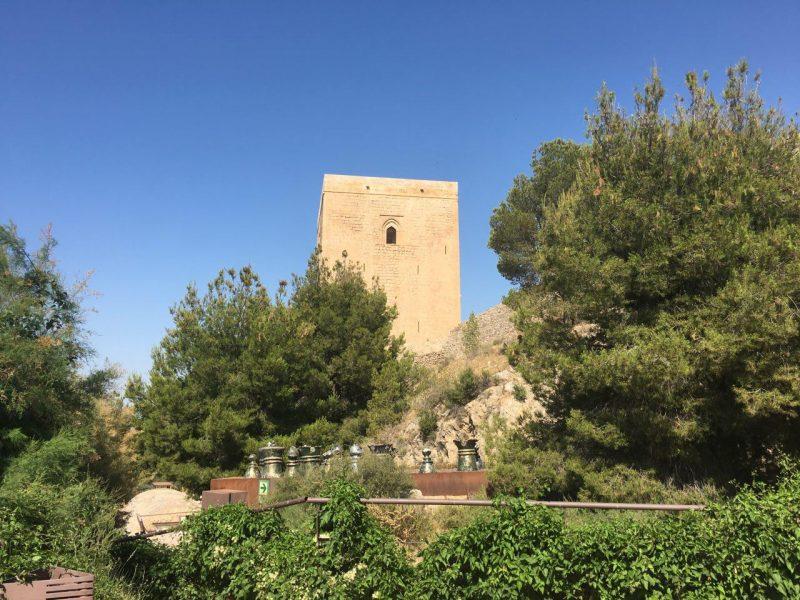 El castillo de Lorca amplia su horario de apertura durante el mes de agosto