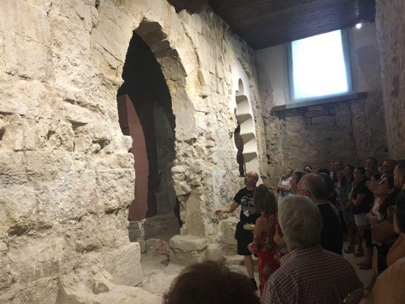 Abiertos al público los restos del Palacio Califal del templo de la Virgen de las Huertas