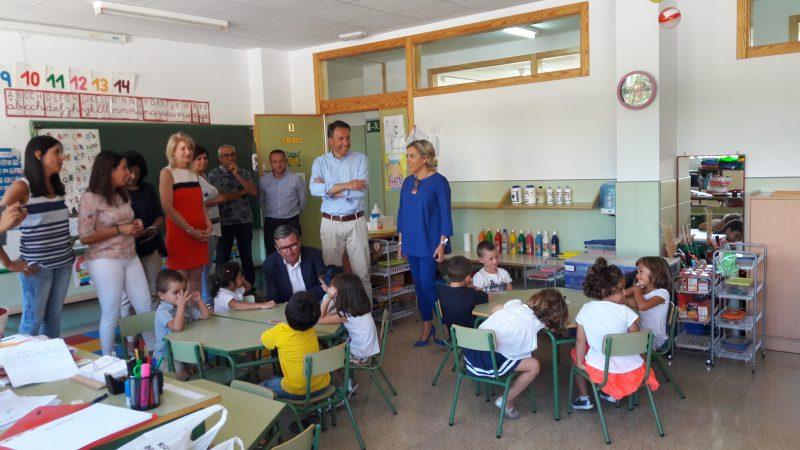 Vuelta al 'cole' para más de 9.900 alumnos de infantil y primaria en los colegios del municipio