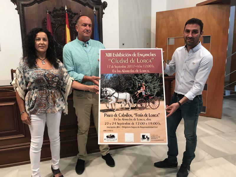 La XIII Exhibición de Enganches de la Feria reunirá a más de 40 coches de caballos