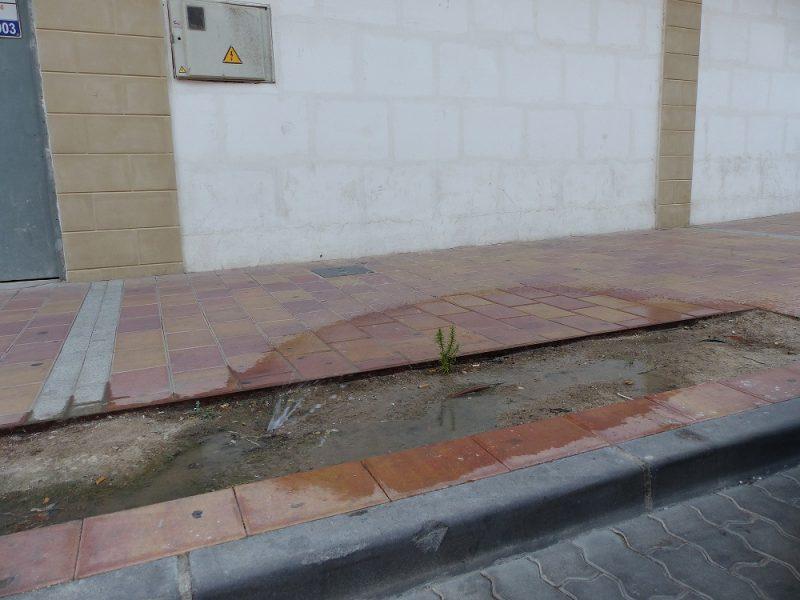 """IU pide colaboración ciudadana para denunciar """"la falta de mantenimiento y de limpieza en las calles"""""""