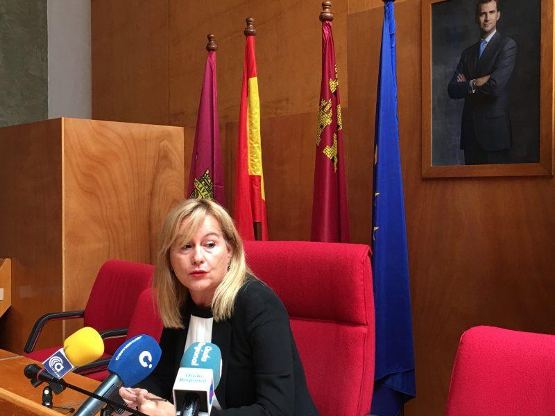 """El PSOE vuelve a reclamar un juzgado de cláusulas suelo """"para desatascar el colapso de casos"""" en la Región"""