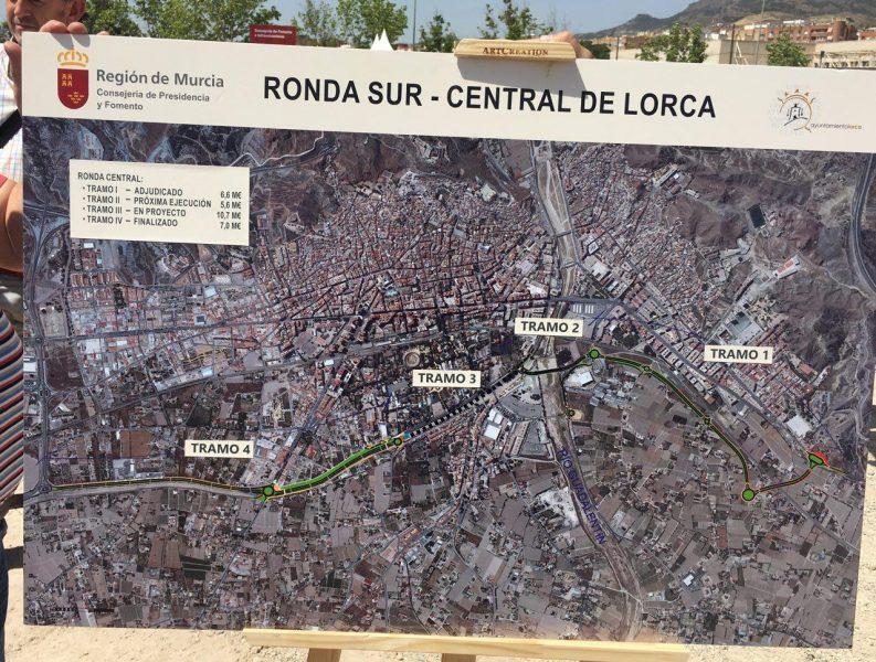 Más de 7,5 millones para el primer tramo de la Ronda Central de Lorca