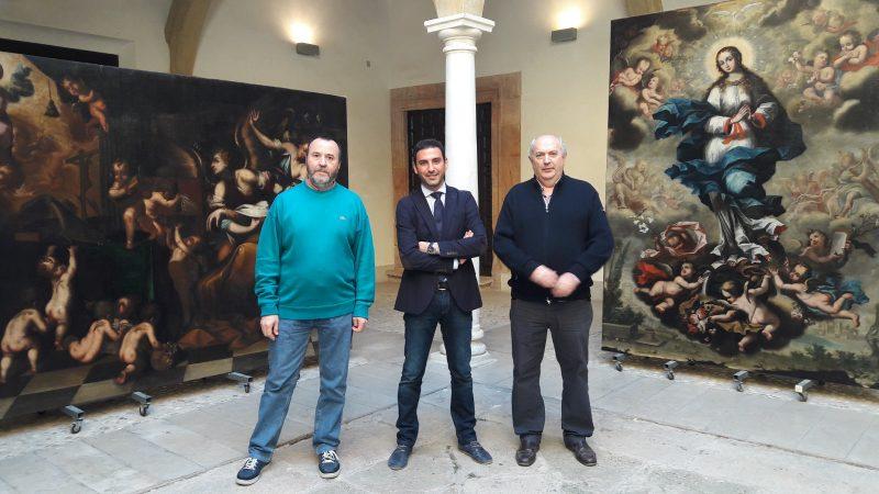 Una mesa redonda dará a conocer los detalles de la reciente restauración de tres lienzos de Camacho Felizes