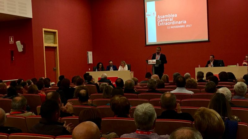 Diego José Mateos, reelegido Secretario General de los socialistas lorquinos