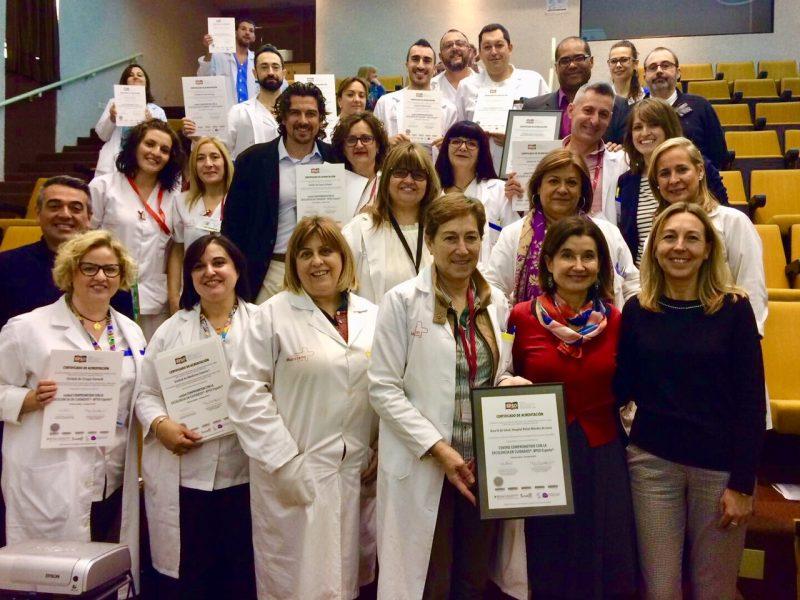 El Rafael Méndez renueva su acreditación como centro comprometido en la excelencia en cuidados