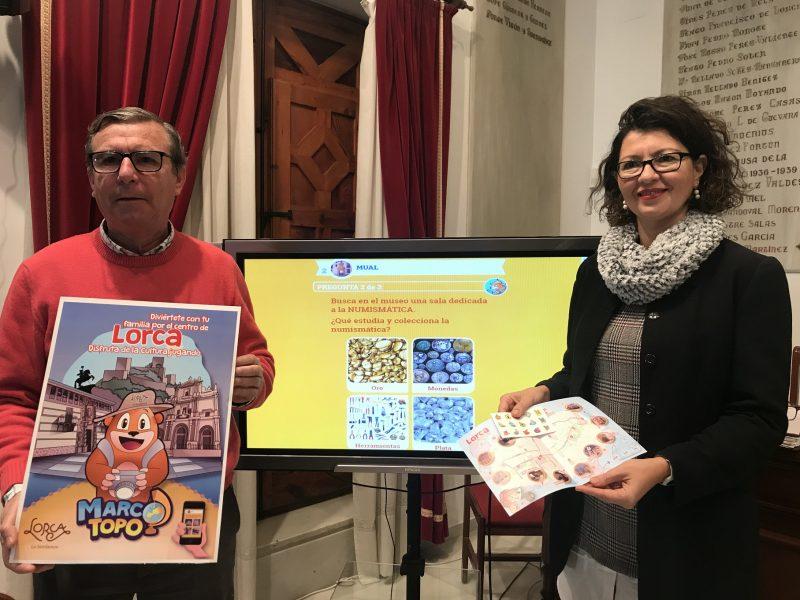 Las familias con niños podrán hacer turismo en Lorca a través de un juego didáctico
