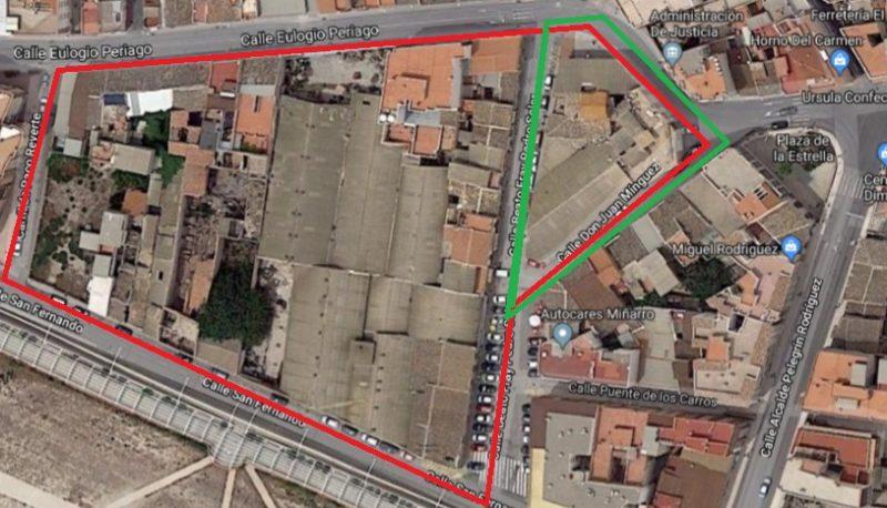"""IU-V pide revisar la gestión del Plan General Urbanístico para """"dinamizar el barrio de San Cristóbal"""""""