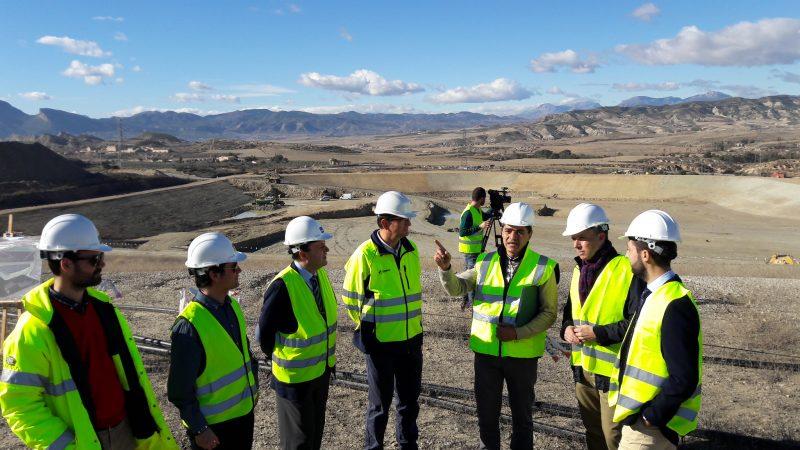 El nuevo vaso del Centro de Gestión de Residuos de Barranco Hondo multiplicará por cuatro su vida útil