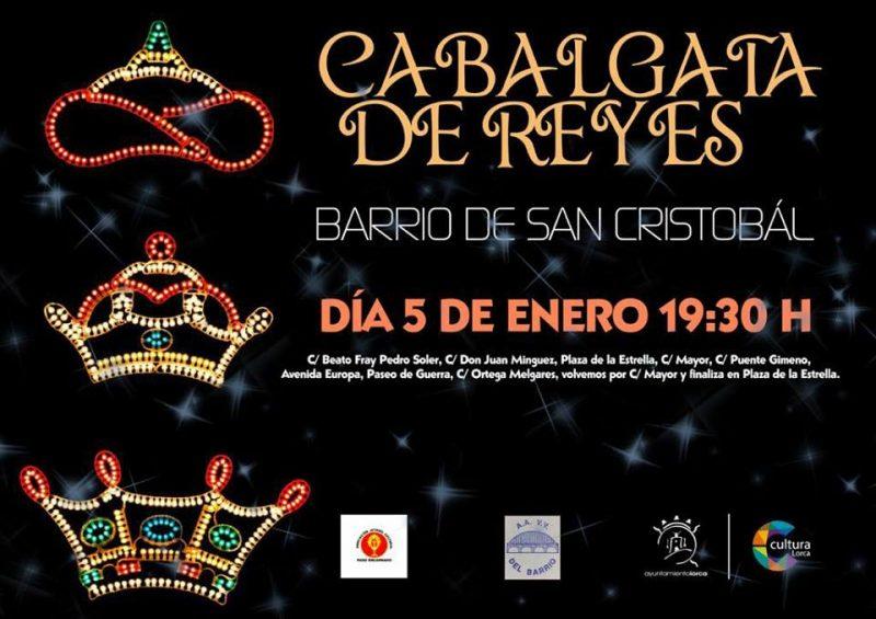 El Barrio de San Cristóbal recuperará, este viernes, su tradicional Cabalgata de Reyes