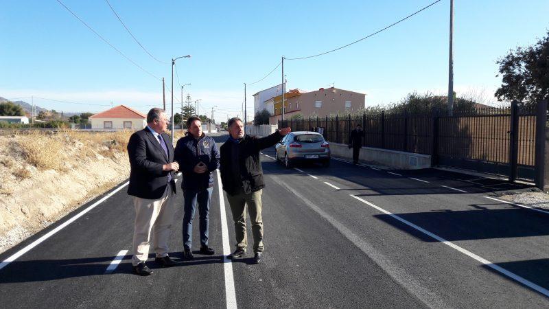 Las obras de mejora en las pedanías incluyen arreglos de carreteras, parques, colegios y locales sociales