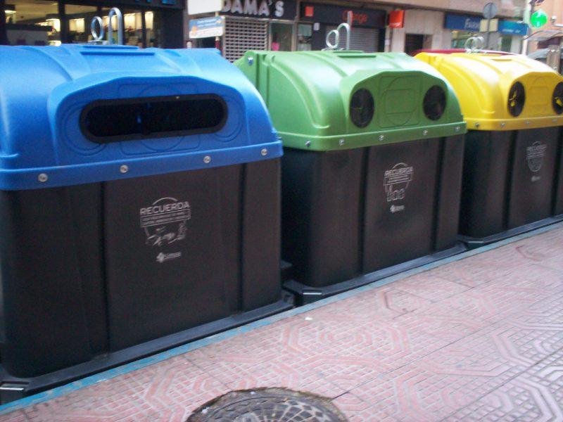 200 nuevos contenedores para seguir fomentando la recogida selectiva de residuos domésticos