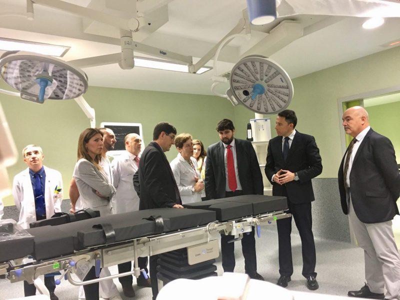 En febrero empezarán a funcionar los nuevos quirófanos y paritorios del Rafael Méndez