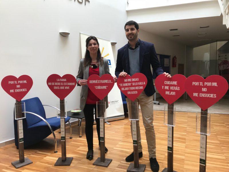 Ponen en marcha una campaña para que 'nos enamoremos' de la limpieza en las calles