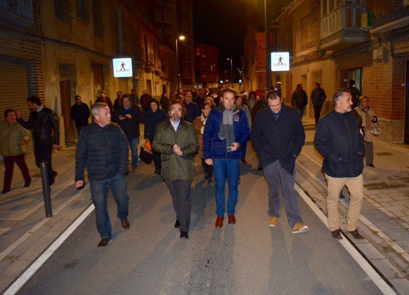 Finaliza la remodelación de la calle Eulogio Periago en la que se han invertido 712.000 euros