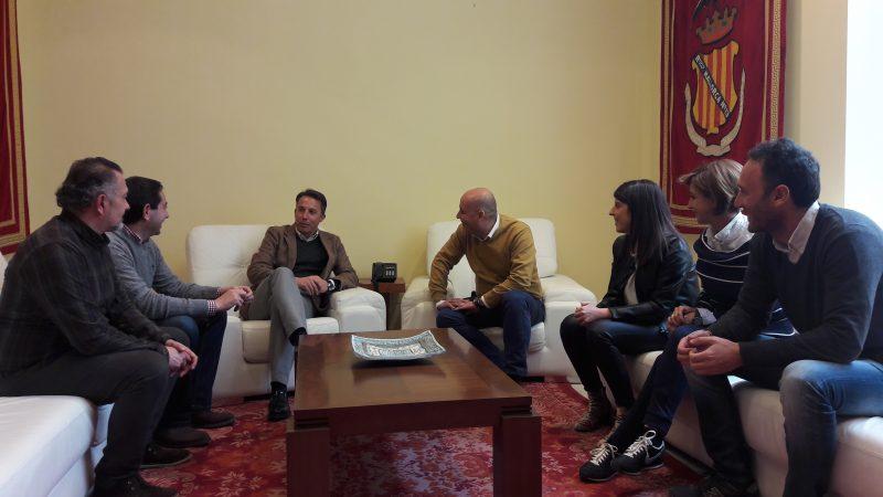 Reunión entre Lorca y Huércal-Overa para promover sinergias que beneficien a ambos municipios