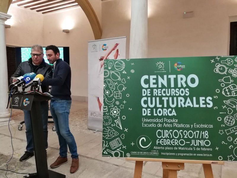 El Centro de Recursos Culturales oferta 1.430 plazas en los 92 cursos programados entre febrero y junio