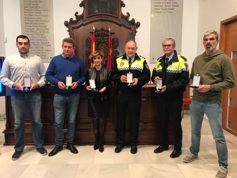 Los agentes de la Policía Local destacados serán reconocidos el próximo sábado 17 de marzo